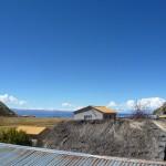 Comunidad Wilka Chinkana en la Isla del Sol, Lago Titicaca, Bolivia