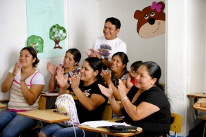 FAC adopted the Grameen group model. Lenders have one educational session per week.